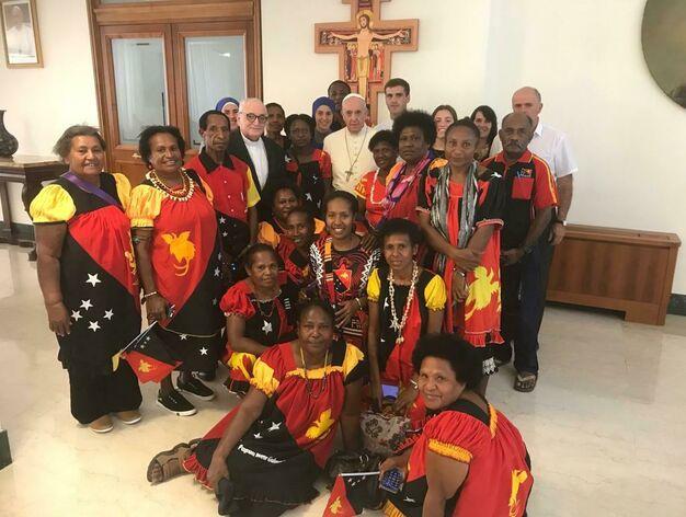 Francisco prepara su primer viaje a Oceanía: irá a Papúa Nueva Guinea en 2020 - Religión Digital