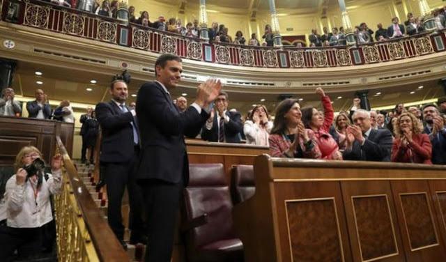 Pedro Sánchez justifica su asalto al poder