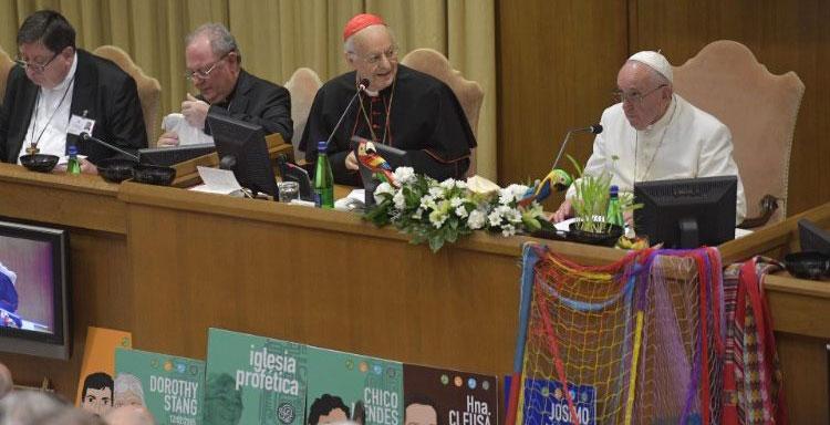 El Papa Francisco en el Sínodo