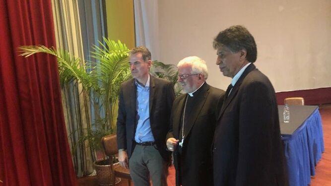 LUciani y el Nuncio de Venezuela