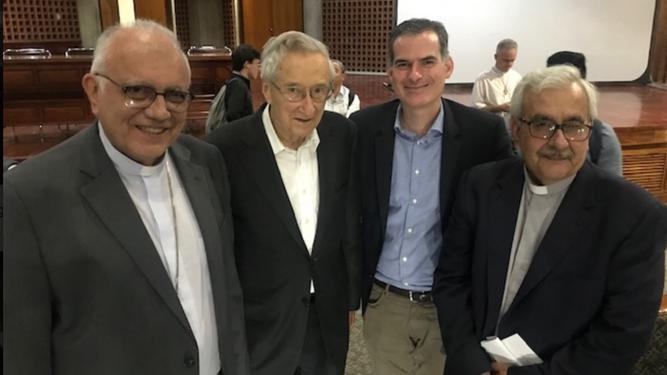 Porras, Hünermann, Luciani y Virtuoso