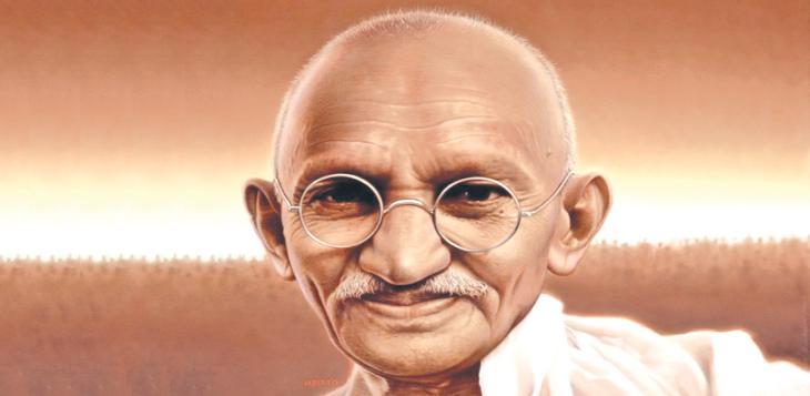 Gandhi, hombre de perdón y paz