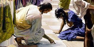 Jesús perdona a la adúltera
