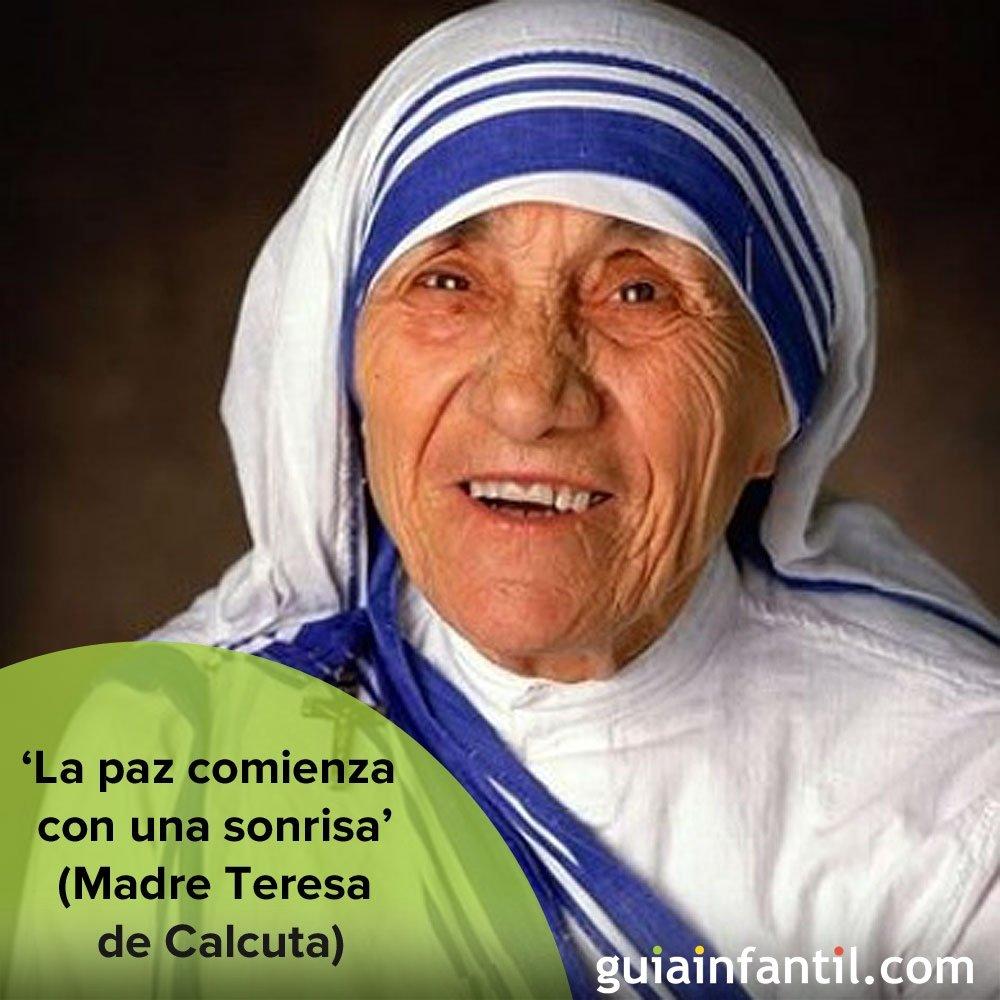 Madre Teresa, mujer de perdón y paz