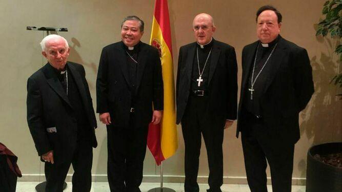 Bernardito Auza toma posesión de la sede de la Nunciatura española