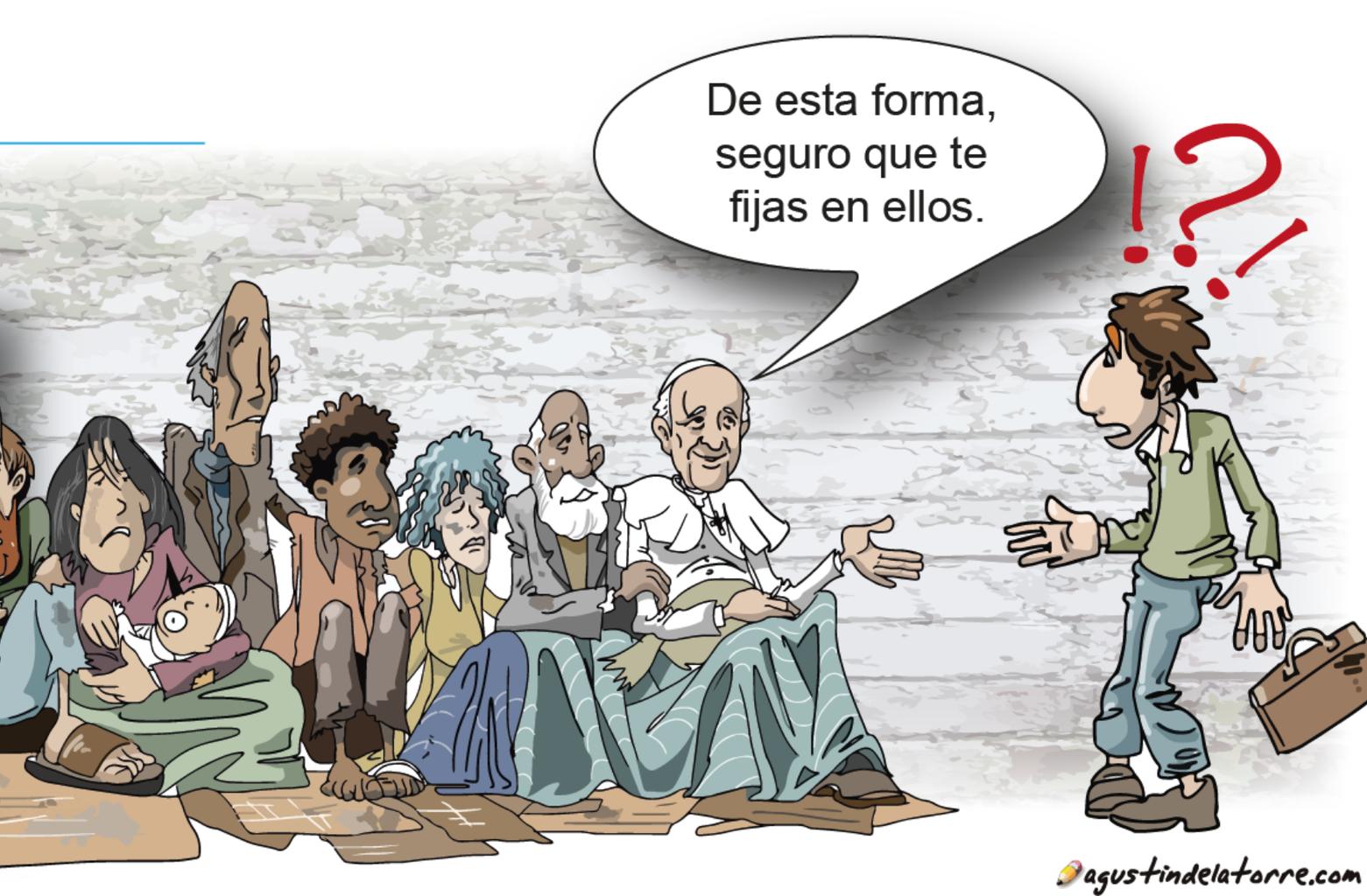 Papa de los pobres