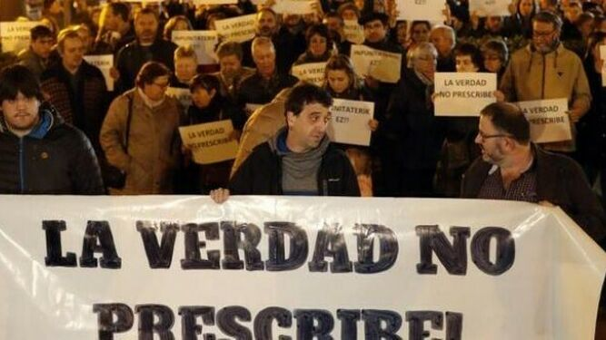 Imagen de archivo de una manifestación contra los abusos a menores en la Iglesia