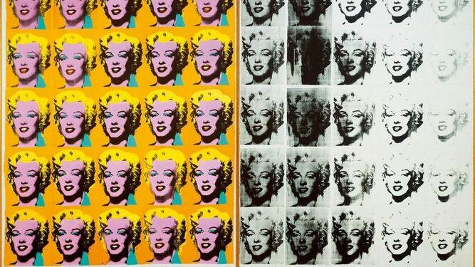 Retrato de Marilyn, por Andy Warhol