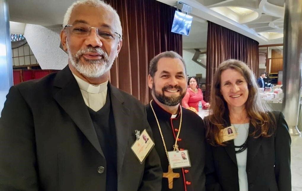 Monseñor José Albuquerque en el Sínodo