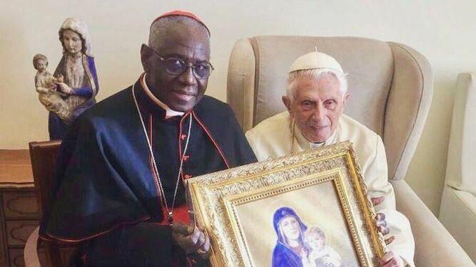 Ratzinger y Sarah, juntos
