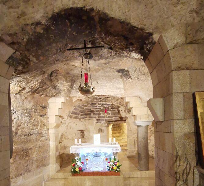 La casa de María en Nazaret era una cueva