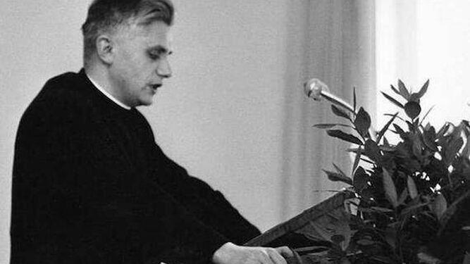 El profesor Ratzinger