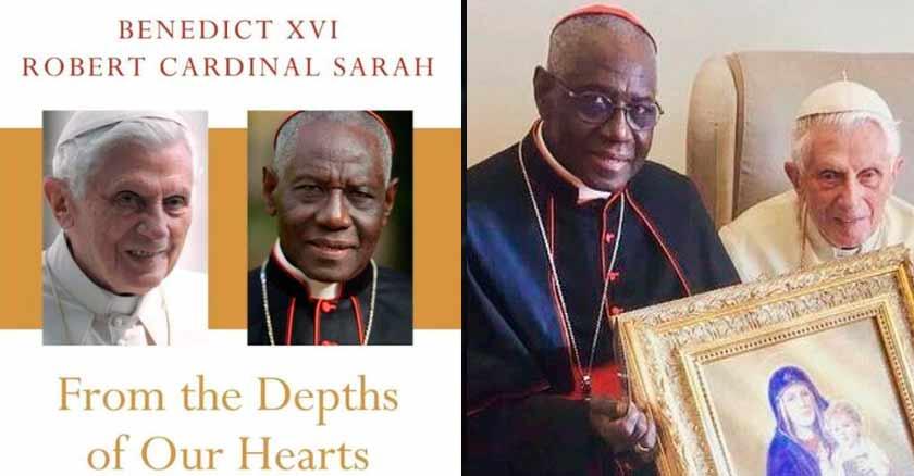 El papa emérito y el cardenal Sarah