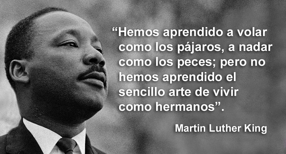 Sentencias de Martin Luther King
