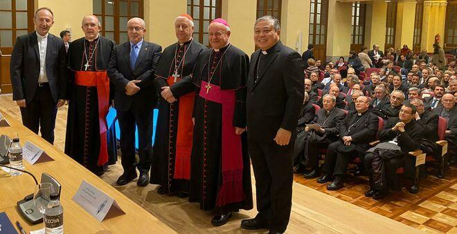 Inauguración del Instituto Juan Pablo II en Madrid