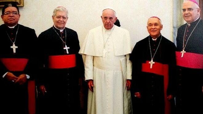 El papa con el episcopado venezolano