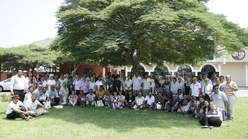 Los participantes en el encuentro