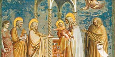 Presentación del niño Jesús
