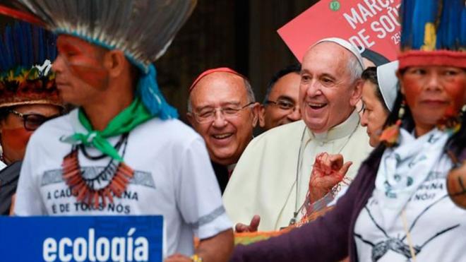 El Papa y la Amazonía