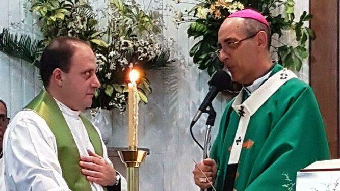 El arzobispo de La Plata en una celebración