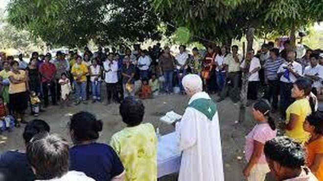 Sacerdotes en la Amazonía