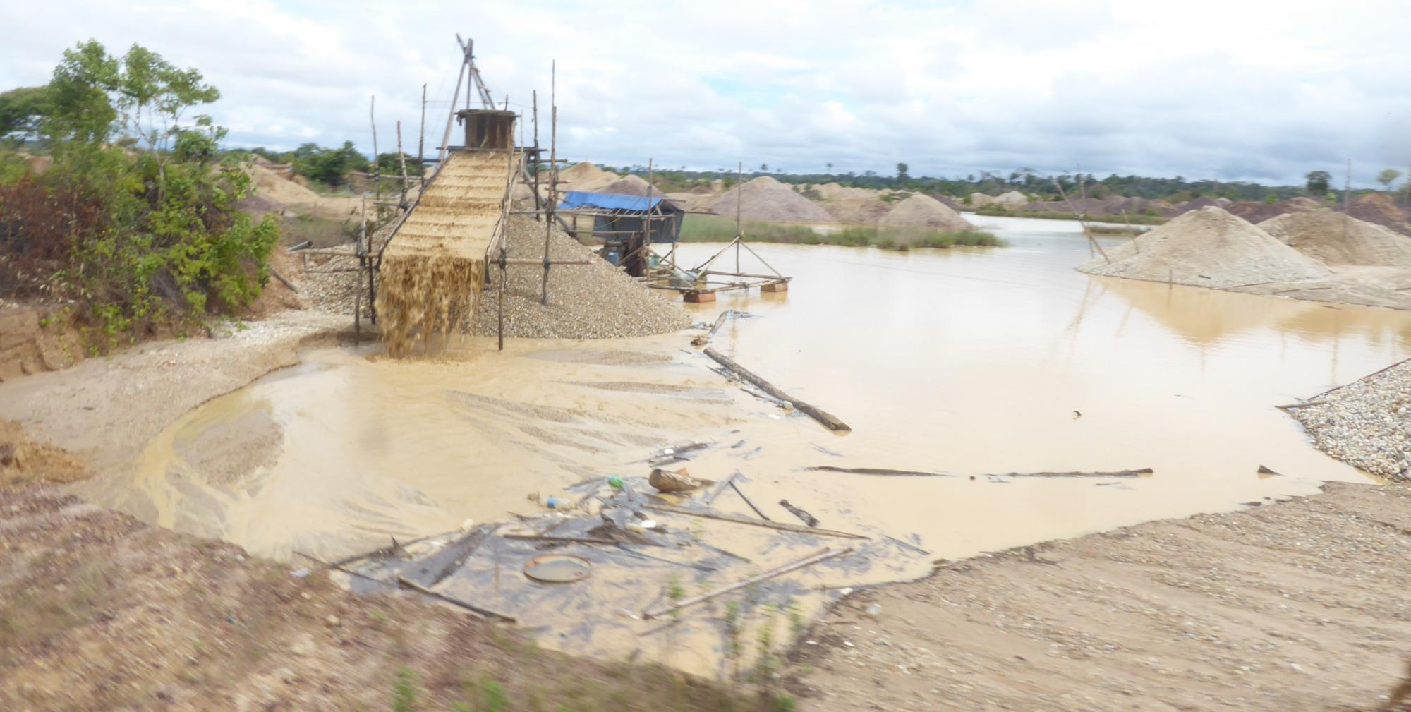 Minería en Puerto Maldonado