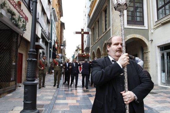 Procesión del Lignum crucis en Avilés