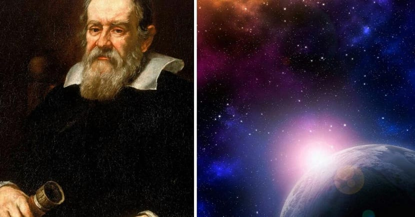 Galileo y el sol y la tierra