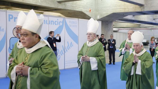Nuncio, Omella, Osoro y Cañizares