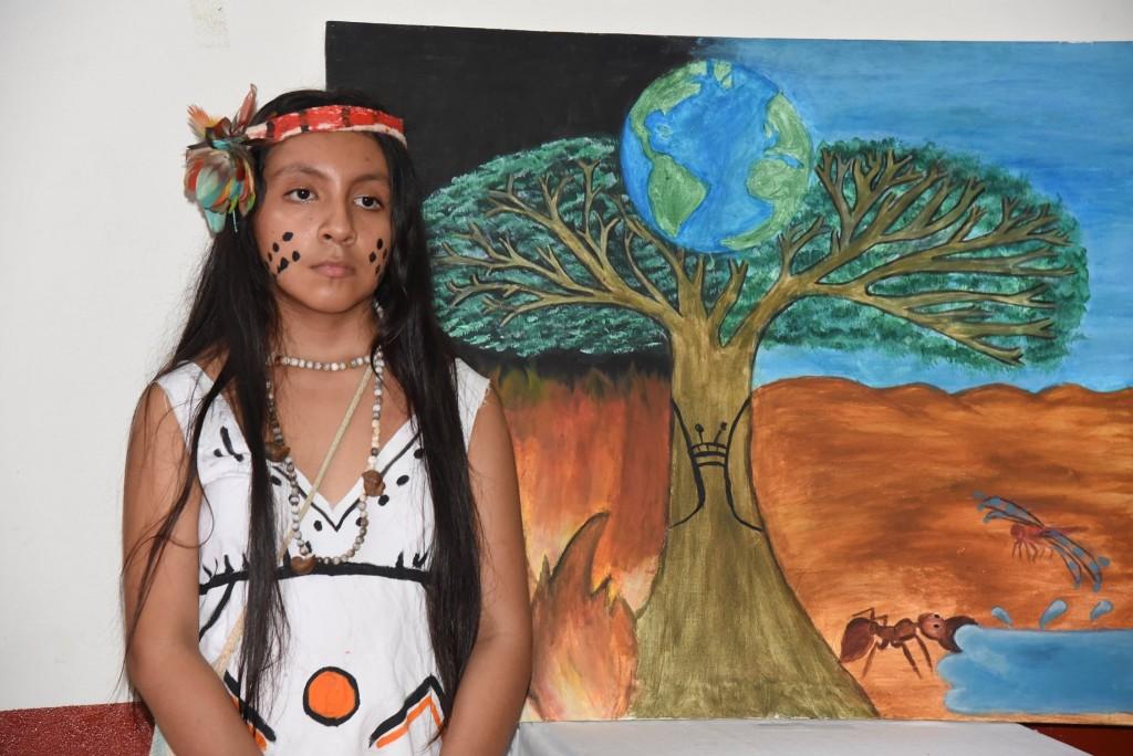 Anelice Cáceres. Foto GOREMAD