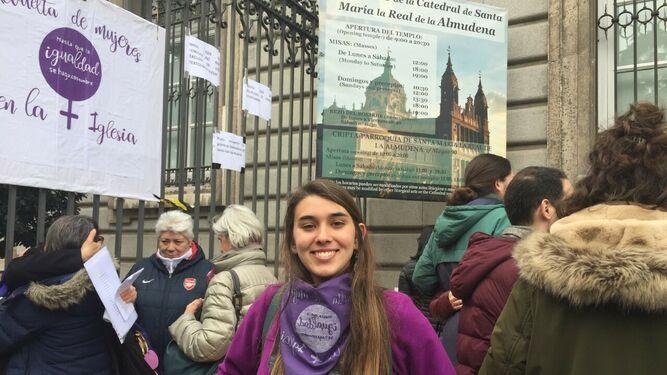 María García, movilizada por la igualdad