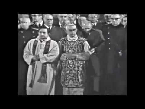En el funeral de Carrero Blanco