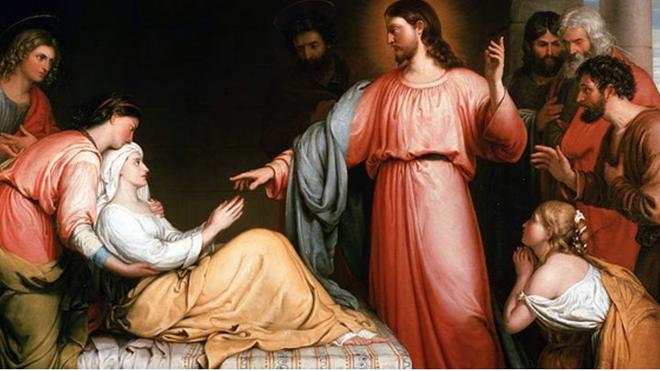 Jesús curaba enfermos
