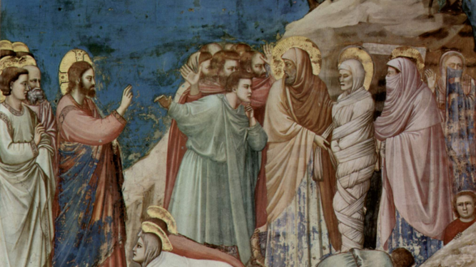 Lázaro de Betania, resucitado