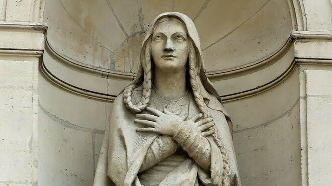 Santa Genoveva (La heroína y patrona de Paris)