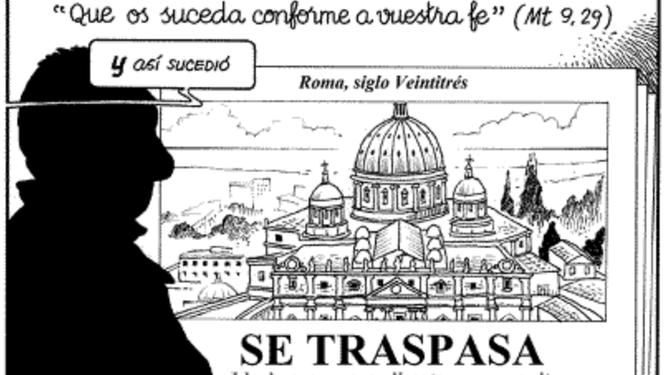 Iglesia y Reino: se traspasa Vaticano