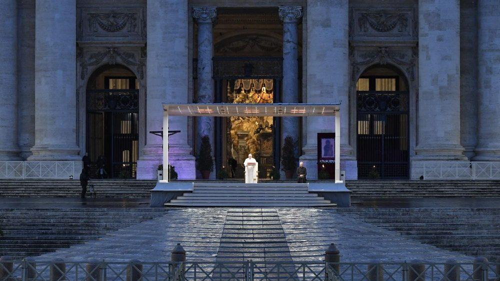 Papa Francisco 27 de marzo