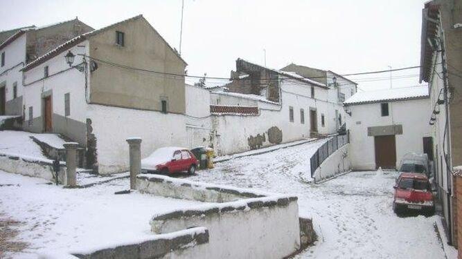 Nieve en Pedroche (Córdoba)