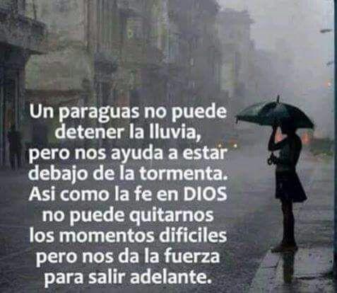 Dios paraguas