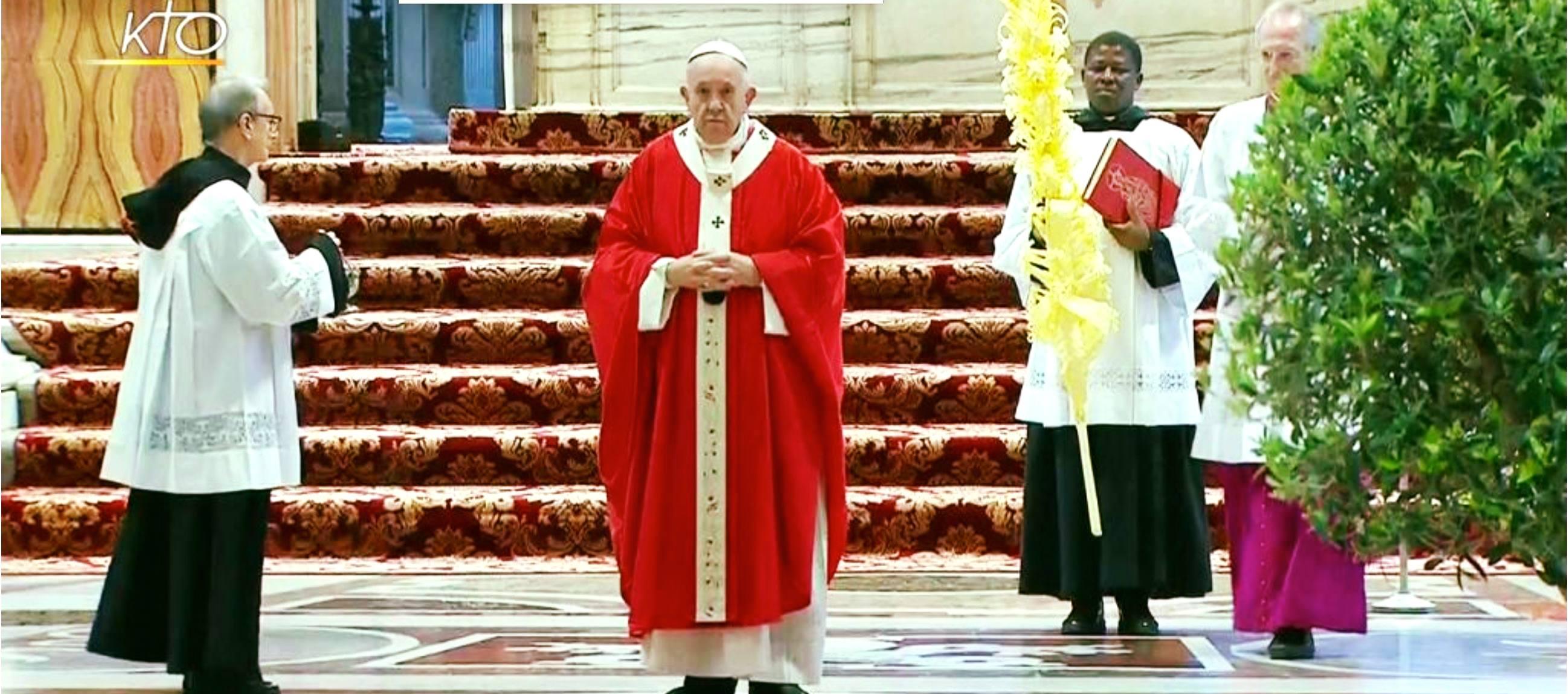 Misa papal del Domingo de Ramos