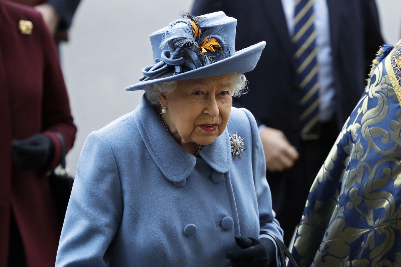 Isabel II sobre el coronavirus-2020
