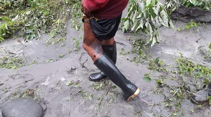 Indígenas de la región comprueban el alcance del desastre