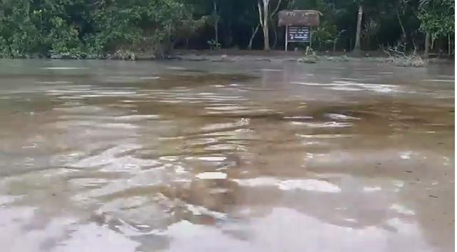 Petroleo en el Río Coca