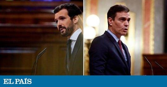 Casado vs. Sánchez- Pacto Moncloa 2020