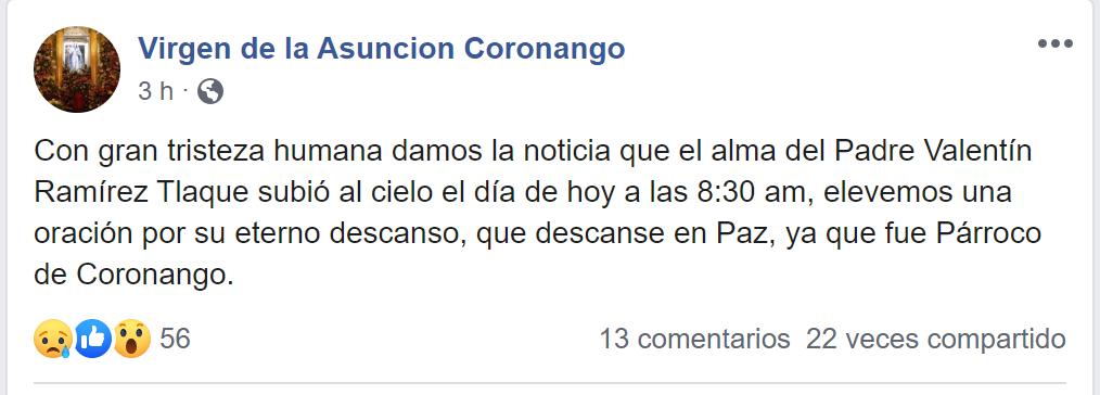 Post Coronango
