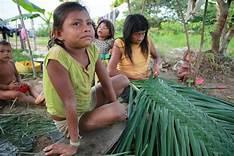 Indígenas en la Amazonía colombiana