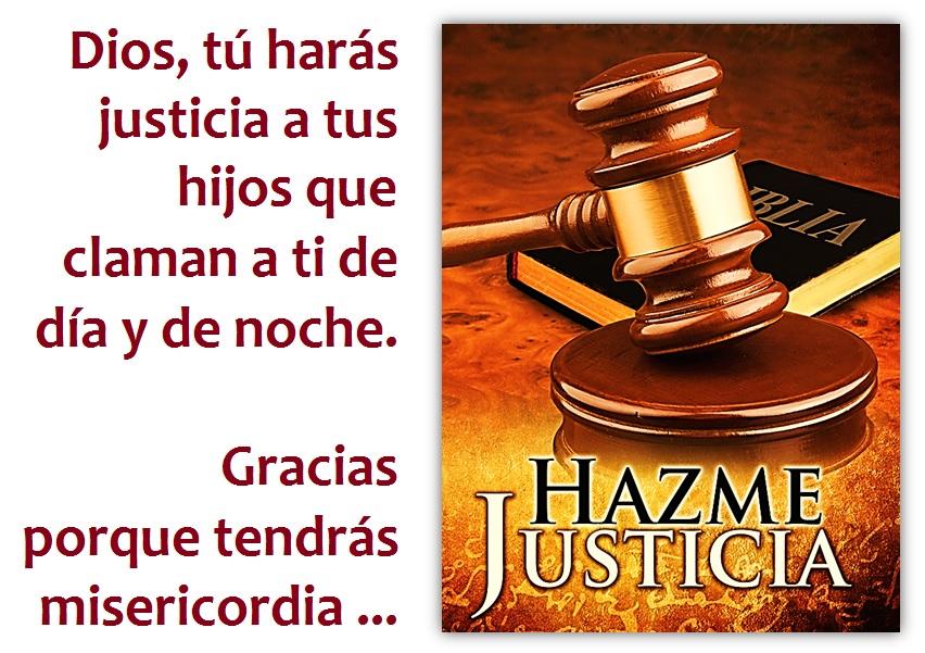 Oracion de Justicia Divina