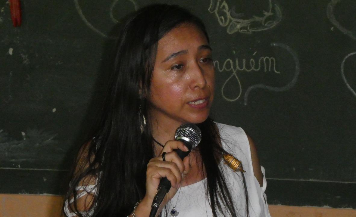 La teóloga boliviana Tania Avila