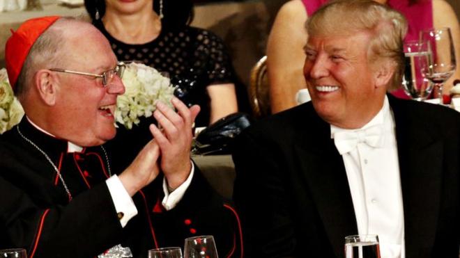 Dolan con Trump