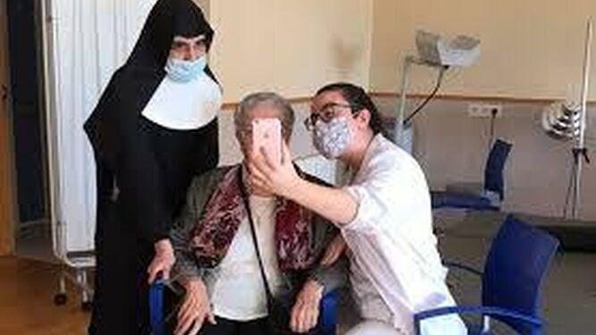 Las Hermanitas en la pandemia. Castellón. Cope.